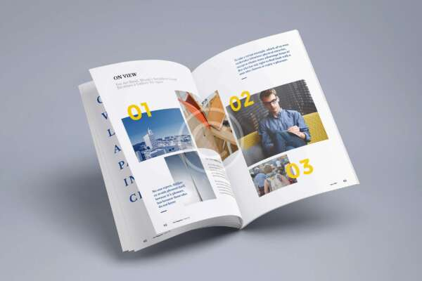 Leaflets With High Gloss Finish