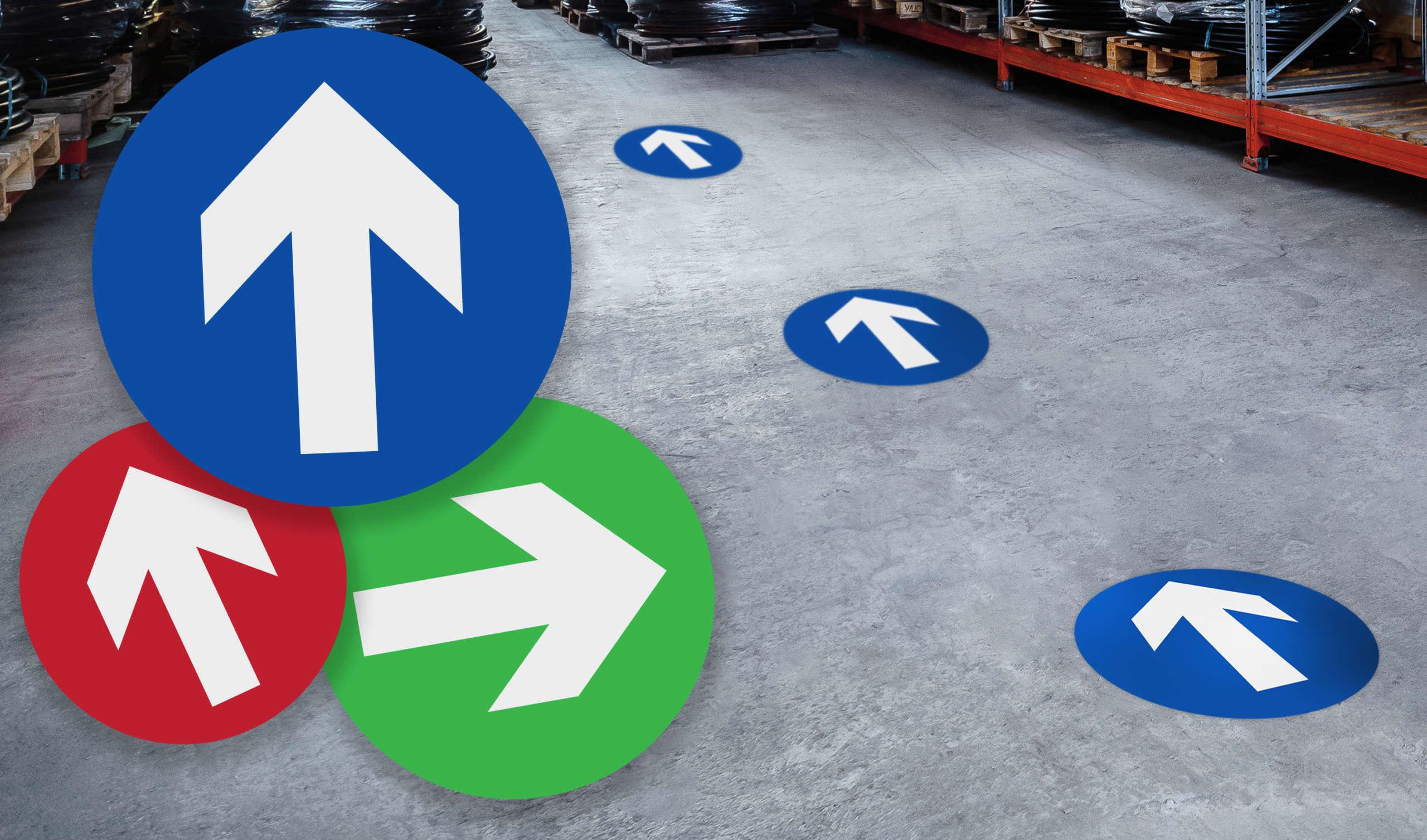 Arrow Floor Stickers